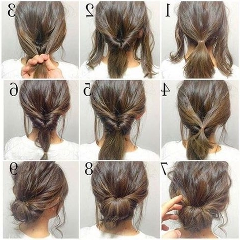 Short Hair Updos, How To Style Bobs, Lobs Tutorials   Short Hair With Regard To Most Popular Homecoming Updo Hairstyles For Short Hair (View 3 of 15)