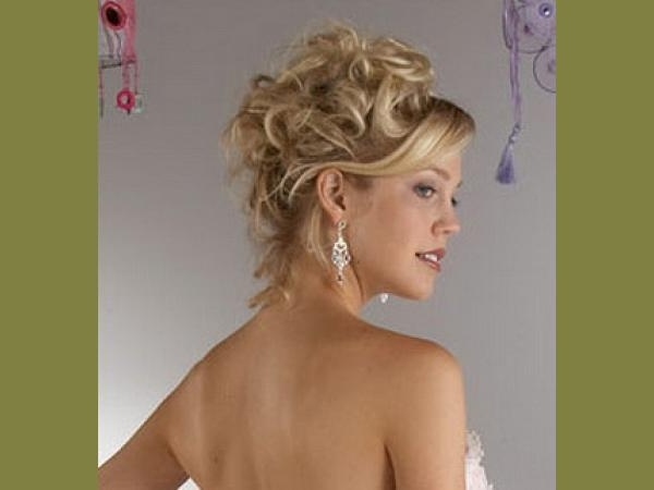 Short Hair Wedding Hairstyle | Medium Hair Styles Ideas – 44230 Pertaining To Most Recent Mother Of The Bride Updo Hairstyles For Short Hair (View 10 of 15)
