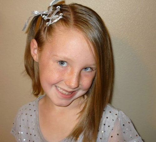 Short Haircut Styles : Little Girl Short Haircuts Cute Hairstyles For Most Up To Date Little Girl Updos For Short Hair (View 14 of 15)