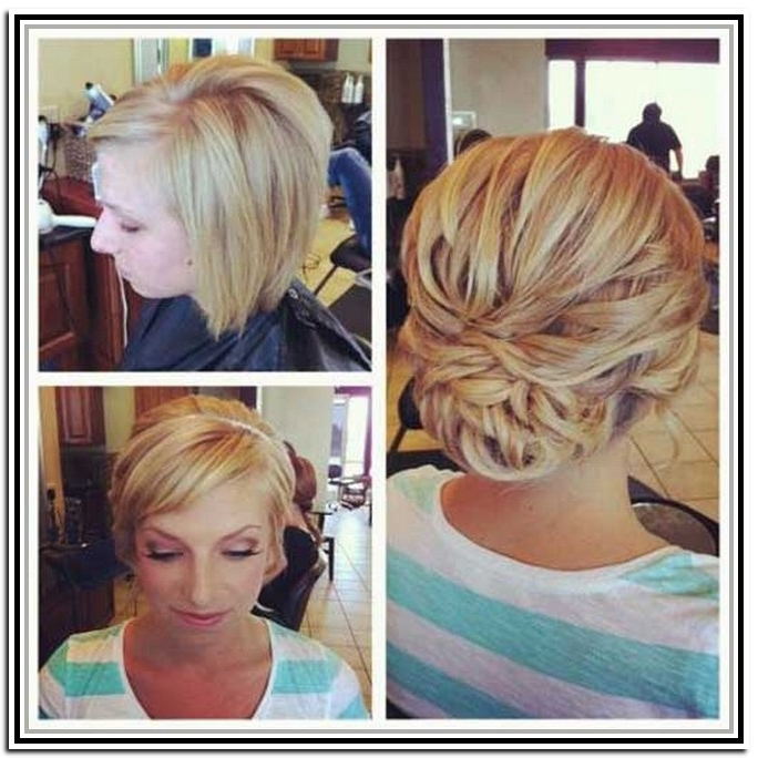 Short Hairstyles Tutorial – Recherche Google | Wedding | Pinterest Inside Latest Short Wedding Updo Hairstyles (View 11 of 15)