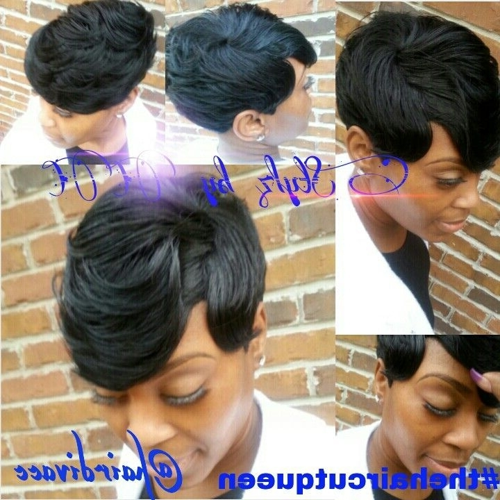 Explore Photos Of Quick Updos For Short Black Hair Showing 8 Of 15