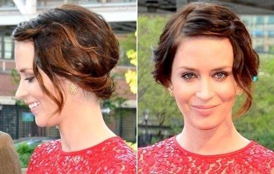 Short Wedding Hairstyle Ideas With Pictures With Most Current Short Wedding Updo Hairstyles (View 12 of 15)