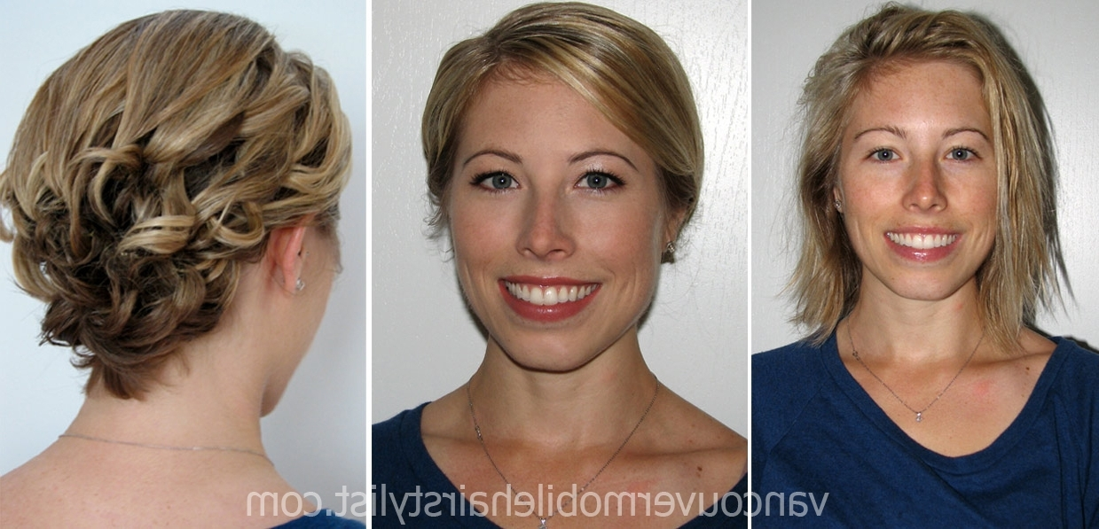 Short Wedding Hairstyles For 2013 – Vancouver Mobile Hair With Regard To Most Recent Short Wedding Updo Hairstyles (View 15 of 15)