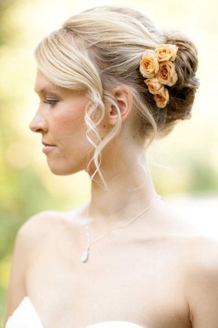 Short Wedding Hairstyles | Short Hairstyles 2017 – 2018 | Most Inside Best And Newest Wedding Updo Hairstyles For Short Hair (View 14 of 15)