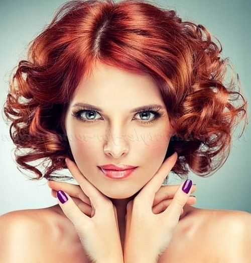 Shoulder Length Wavy Hairstyles – Curly Hairstyle For Medium Length With 2018 Curly Updos For Medium Hair (View 10 of 15)