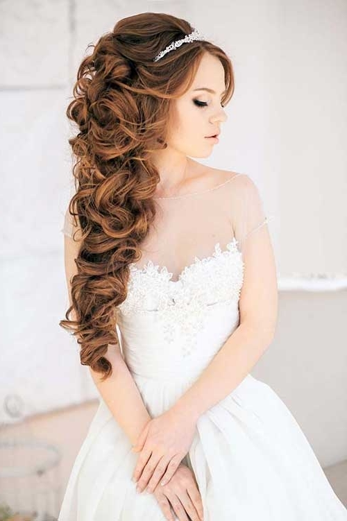 Side Wedding Hairstyles Long Hair – Google Search | Hairrr<3 For Most Recently Updos For Brides With Long Hair (View 11 of 15)