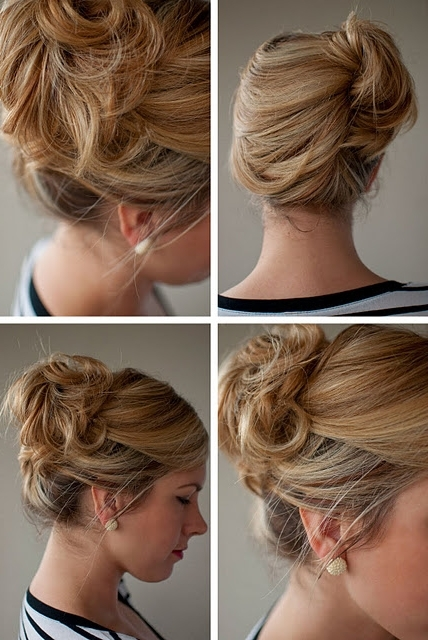 Simple Easy Updo For Summer: Loose Side French Twist Updo | French With Most Recent French Twist Updo Hairstyles (View 14 of 15)