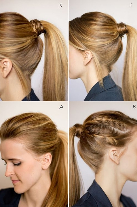 Simple Hairstyle For Quick Easy Hairstyles For Medium Length Hair Inside Most Recently Quick And Easy Updos For Medium Length Hair (View 15 of 15)