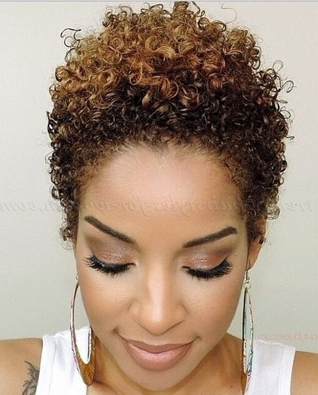 Simple Naturally Curly Short Formal Hairstyles With Side Bangs For Intended For Most Recently Casual Updos For Naturally Curly Hair (View 8 of 15)