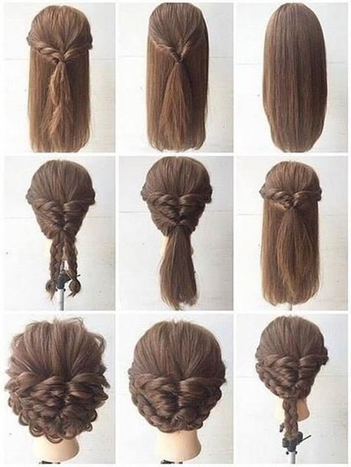 Simple Updos For Long Hair | Fashion Blog Inside Most Current Easy Hair Updos For Long Hair (View 15 of 15)