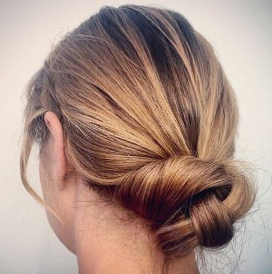 Simple Updos For Thin Hair – The Newest Hairstyles Intended For Current Cute Updo Hairstyles For Thin Hair (View 7 of 15)