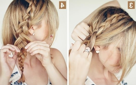 Simple Wedding Hairstyles For Shoulder Length Hair Cute Updos Inside Most Current Easy And Cute Updos For Medium Length Hair (View 8 of 15)