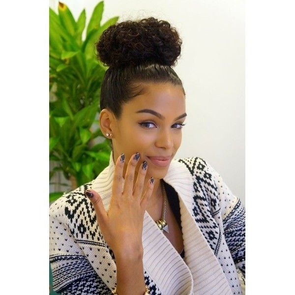 15 Best Ideas Of Updo Hairstyles For Black Women With Natural Hair