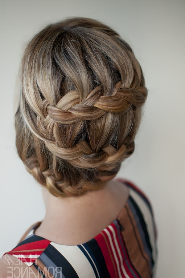 Special, Unique, Romantic S Curve Braid – Romantic Braided Updo In Current Women's Updo Hairstyles (View 14 of 15)