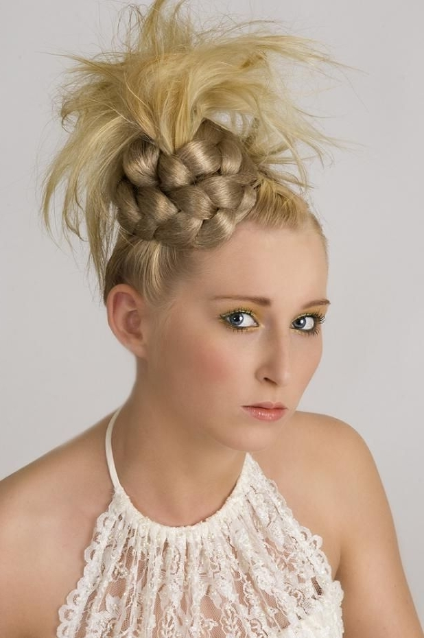 Photo Gallery Of Funky Updo Hairstyles For Long Hair Showing 9 Of