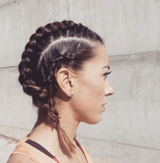 Sporty Hairstyles For Short Hair: 12 Looks That Will Help You Slay Throughout 2018 Sporty Updo Hairstyles For Short Hair (View 13 of 15)