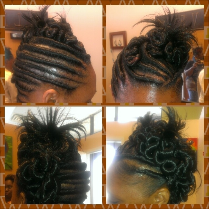 Stuff Twist Hairstyles Awesome 47 Best Hairstyles Images On With Regard To Most Up To Date Stuffed Twist Updo Hairstyles (View 11 of 15)