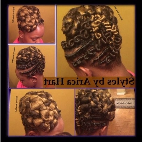 Stuffed Twist Hair Stylesarica Hart (View 6 of 15)