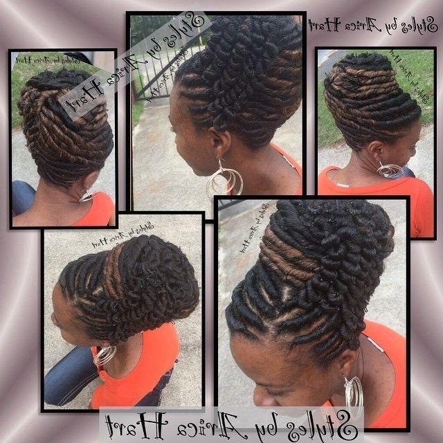 Stuffed Twist Hairstyles | Black Hair Stylesarica Hart (View 4 of 15)
