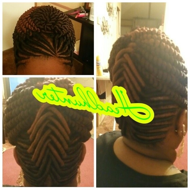 Stuffed Twist | Hairstyles | Pinterest | Hair Style, Black Girl With Regard To Latest Stuffed Twist Updo Hairstyles (View 14 of 15)