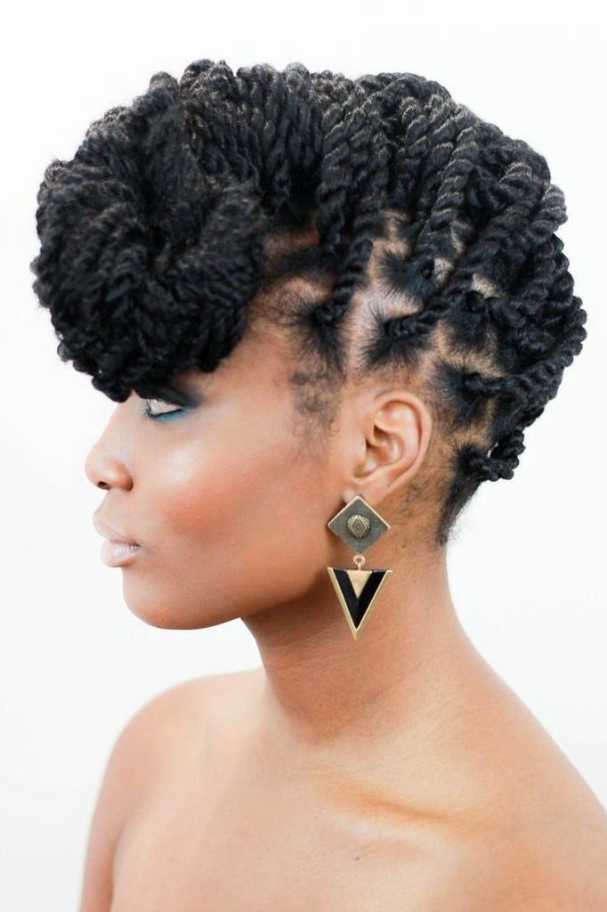Stunning #twists #protectivestyle Lovednenonatural! | Beautify For Most Recent Marley Twist Updo Hairstyles (View 7 of 15)