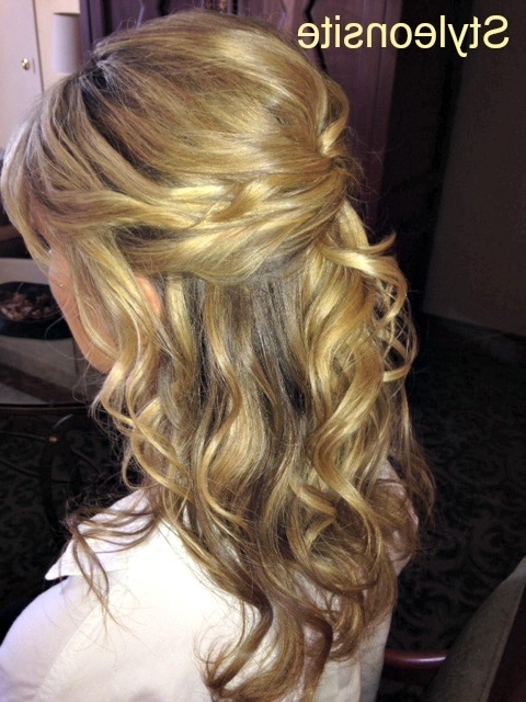 Featured Photo of Half Updo Hairstyles For Mother Of The Bride