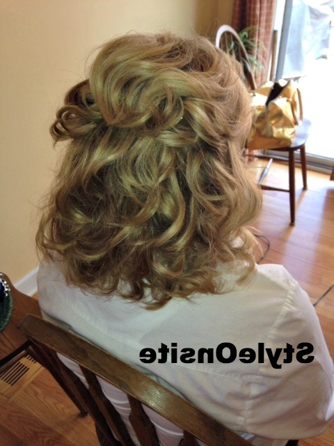 Style Onsite » Style Onsite » Mother Of The Bride Hair And Makeup Trial Inside Latest Half Updos For Mother Of The Bride (View 9 of 15)