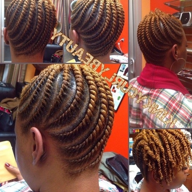 Such Neat Flat Twists Kinkycurlybeauty Httpcommunity African Within Most Current African American Flat Twist Updo Hairstyles (View 12 of 15)