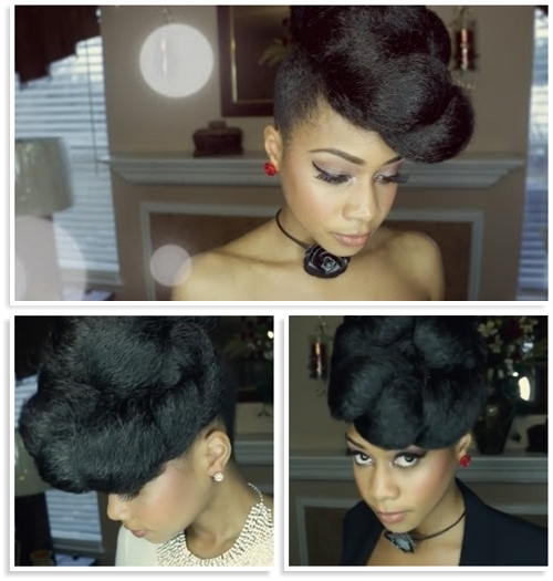 Summer Hairstyles For Hairstyles With Kanekalon Hair Gorgeous And In Current Updo Hairstyles Using Kanekalon Hair (View 11 of 15)