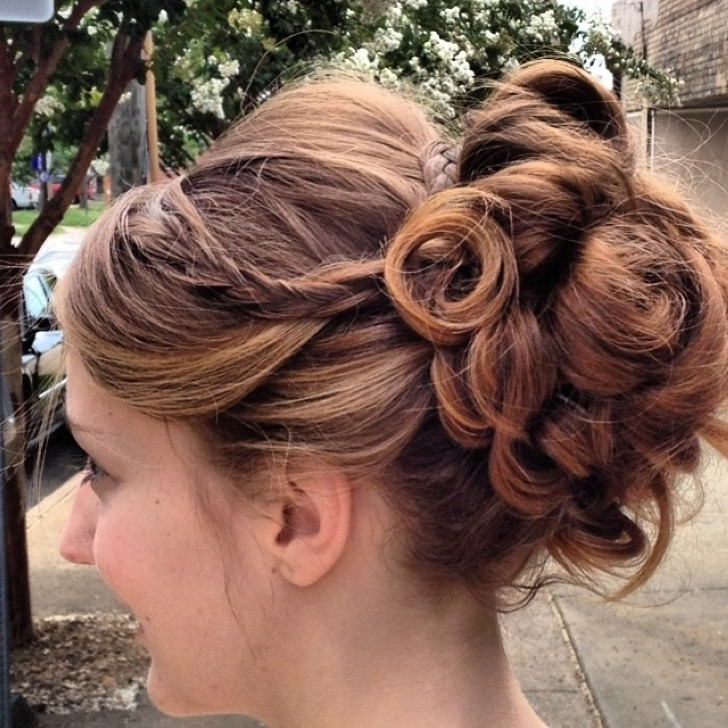 Sweet 16 Hairstyles For Curly Hair – Hairstyles For Sweet 16 – Gophazer Intended For Latest Updo Hairstyles For Sweet (View 8 of 15)