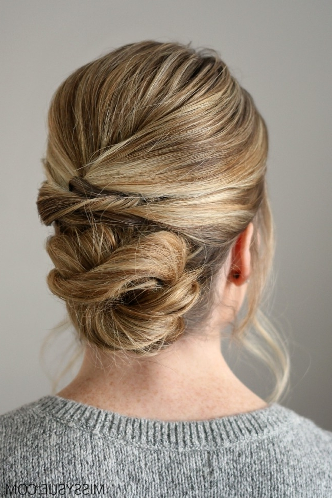 The 11 Best Easy Updo Hairstyles | The Eleven Best In Recent Updo Hairstyles (View 14 of 15)