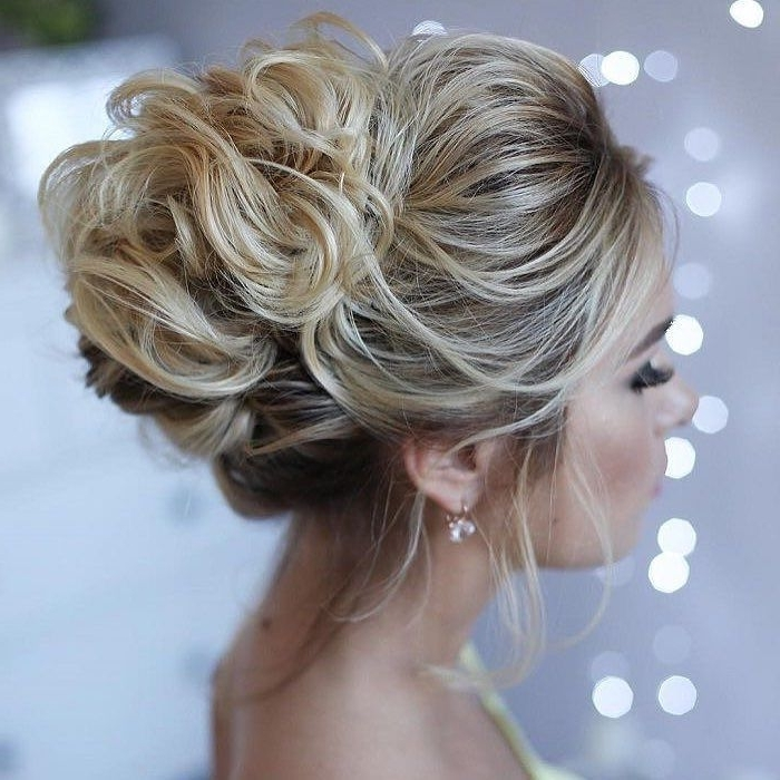 Featured Photo of Wedding Updo Hairstyles For Medium Hair