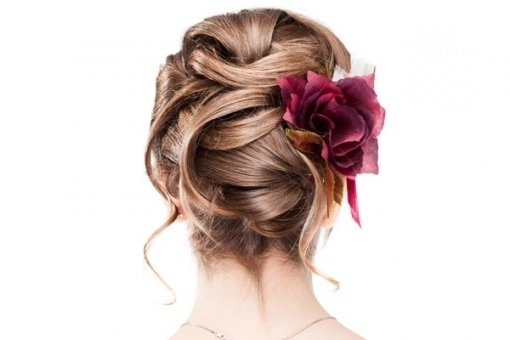 The Best Updo Hairstyles For Weddings – Updohairstyles Intended For Intended For Recent Bridesmaid Updo Hairstyles For Thin Hair (View 11 of 15)