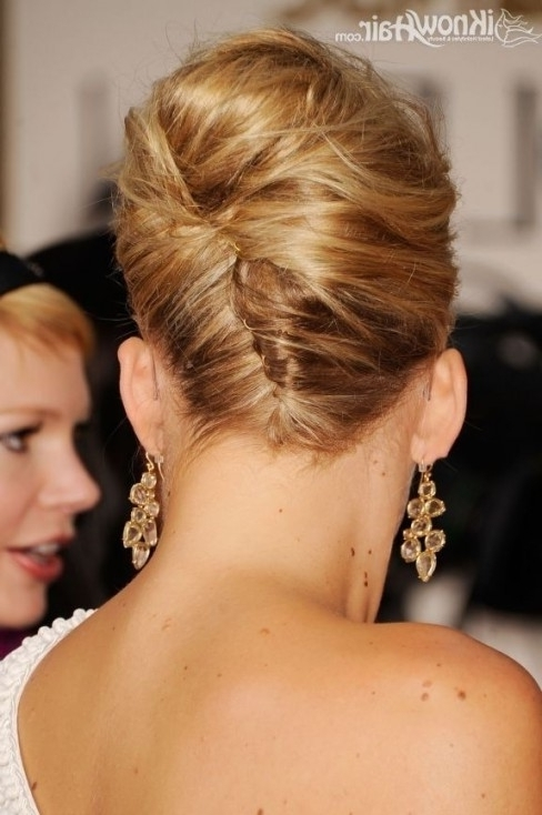 The Best Updo's For Brides With Fine Thin Hair Beauty For Brides In Most Popular Wedding Updos For Fine Thin Hair (View 5 of 15)