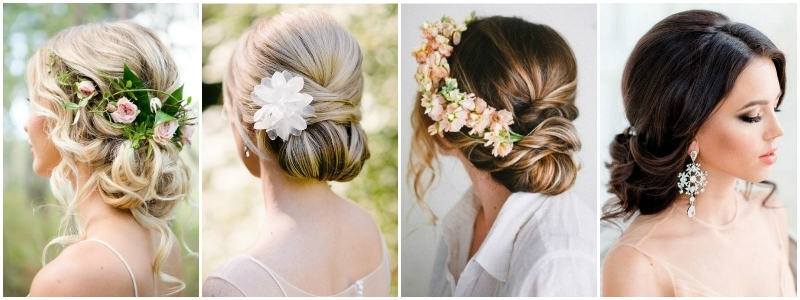 The Best Wedding Hairstyles That Will Leave A Lasting Impression Intended For Most Recent Wedding Updos Shoulder Length Hairstyles (View 3 of 15)