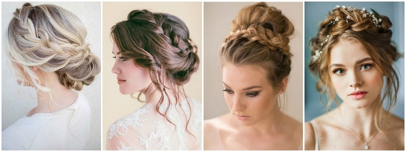 The Best Wedding Hairstyles That Will Leave A Lasting Impression Throughout Newest Wedding Updos Shoulder Length Hairstyles (View 13 of 15)