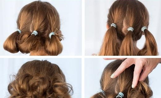 The Cute Low Updo Hairstyle | Makeup Mania Regarding Latest Cute Updo Hairstyles (View 15 of 15)