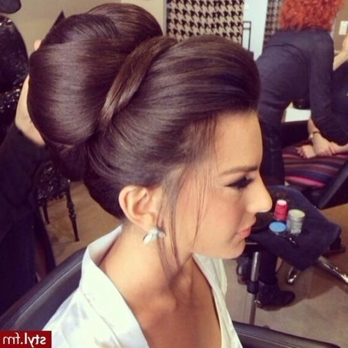 The Perfect Wedding Hairstyles For Every Dress | Bridal Bun, Bun Inside Most Recent Bridal Bun Updo Hairstyles (View 10 of 15)