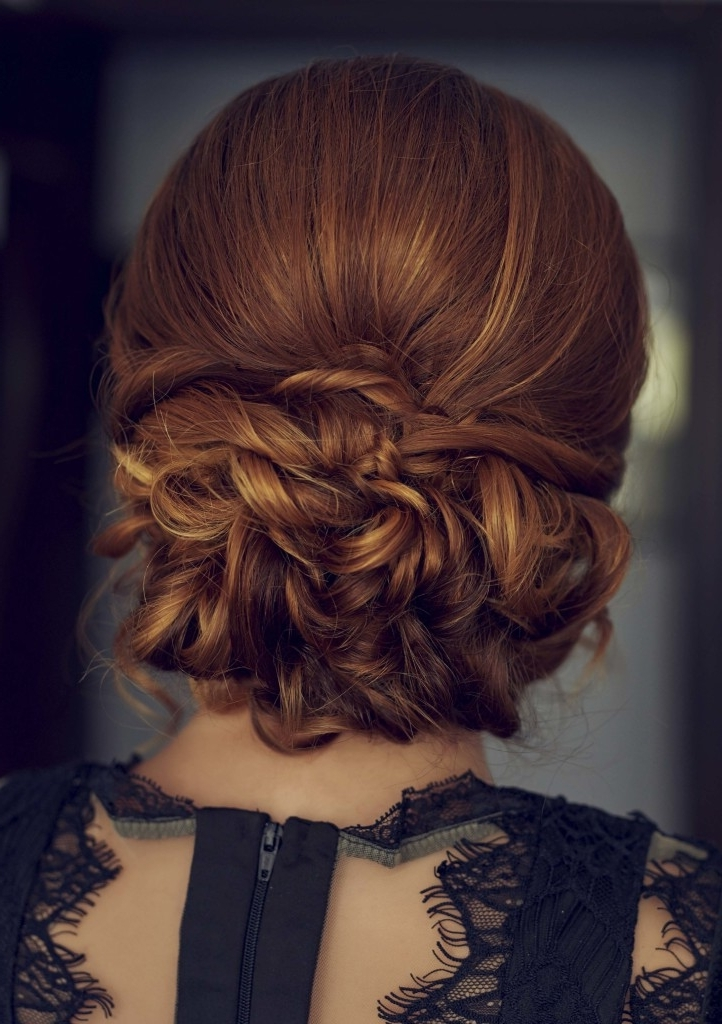 Thick Hair Hairstyles: 7 Updos To Try Throughout Most Current Updo Hairstyles For Thick Hair (View 14 of 15)