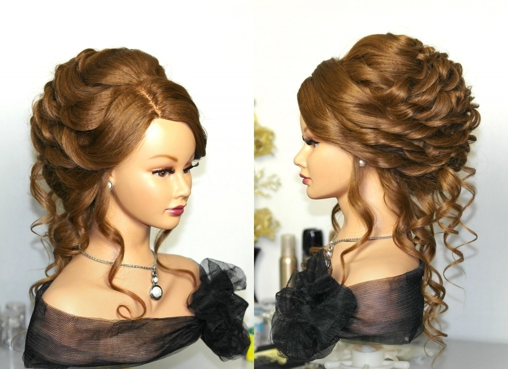 Thin Hair Updo Hairstyles Fancy Hairstyles For Long Thin Hair Easy Pertaining To Most Recent Easy Updo Hairstyles For Long Thin Hair (View 15 of 15)