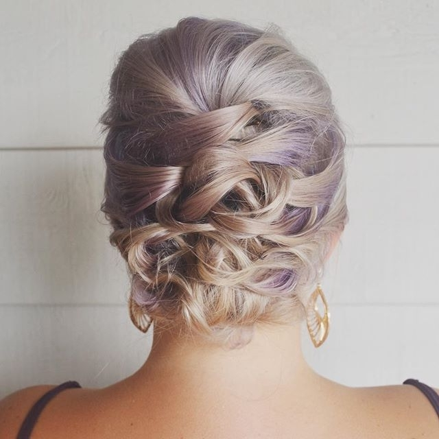 This #updo Was Done On Short Fine Hair (View 8 of 15)