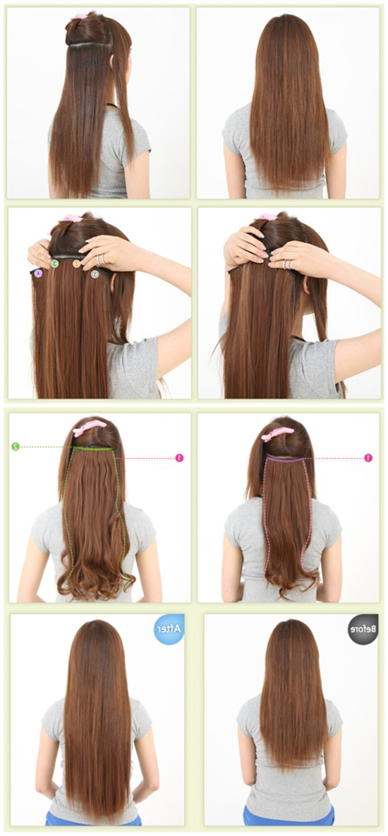Featured Photo of Hair Extensions Updo Hairstyles