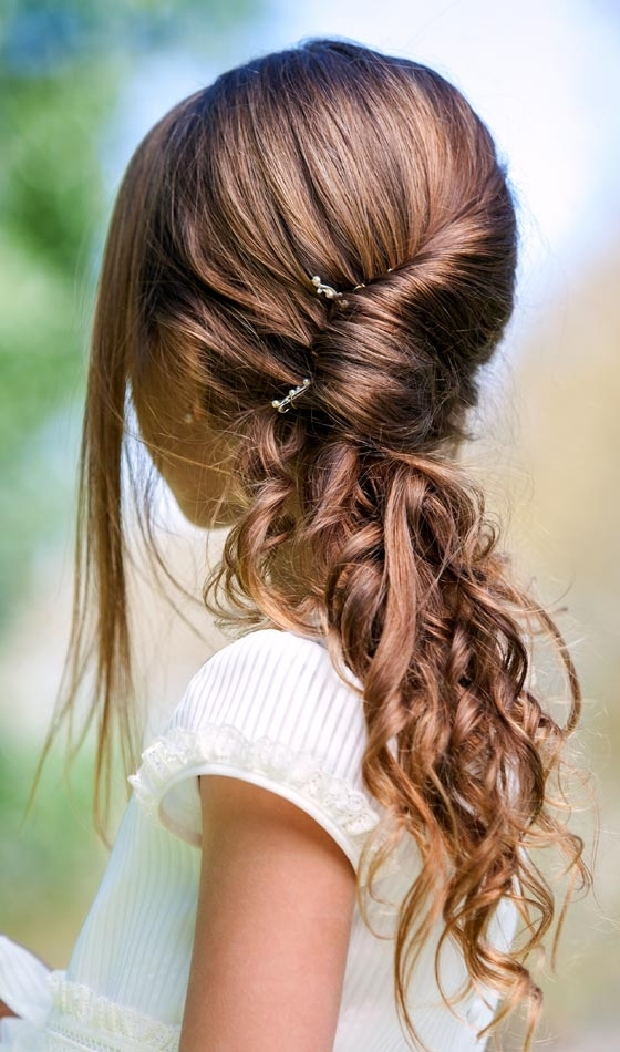 Top 13 Trendy Hairstyles For Kids Pertaining To 2018 Children's Updo Hairstyles (View 11 of 15)
