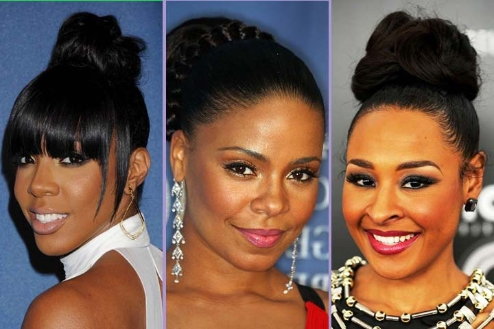 View Photos Of Black Ladies Updo Hairstyles Showing 10 Of 15 Photos