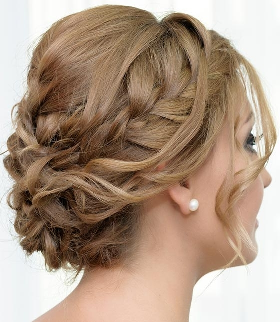 Top 30 Hairstyles To Cover Up Thin Hair Throughout Best And Newest Updos For Medium Thin Hair (View 5 of 15)