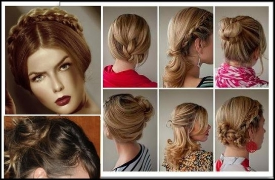 Top 6 Easy Casual Updos For Long Hair – Hair Fashion Online In Most Throughout Most Recent Easy Casual Updos For Long Hair (View 14 of 15)
