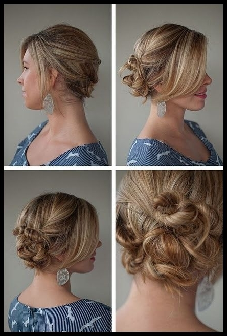 Top 6 Easy Casual Updos For Long Hair | Updos, Long Hair Hairstyles Intended For Most Up To Date Easy Casual Updos For Long Hair (View 15 of 15)