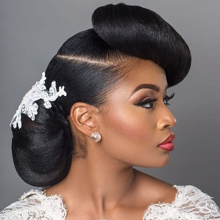 Top Wedding Hairstyles For Natural Hair – Kontrol Magazine Regarding Most Current Natural Hair Wedding Updo Hairstyles (View 3 of 15)