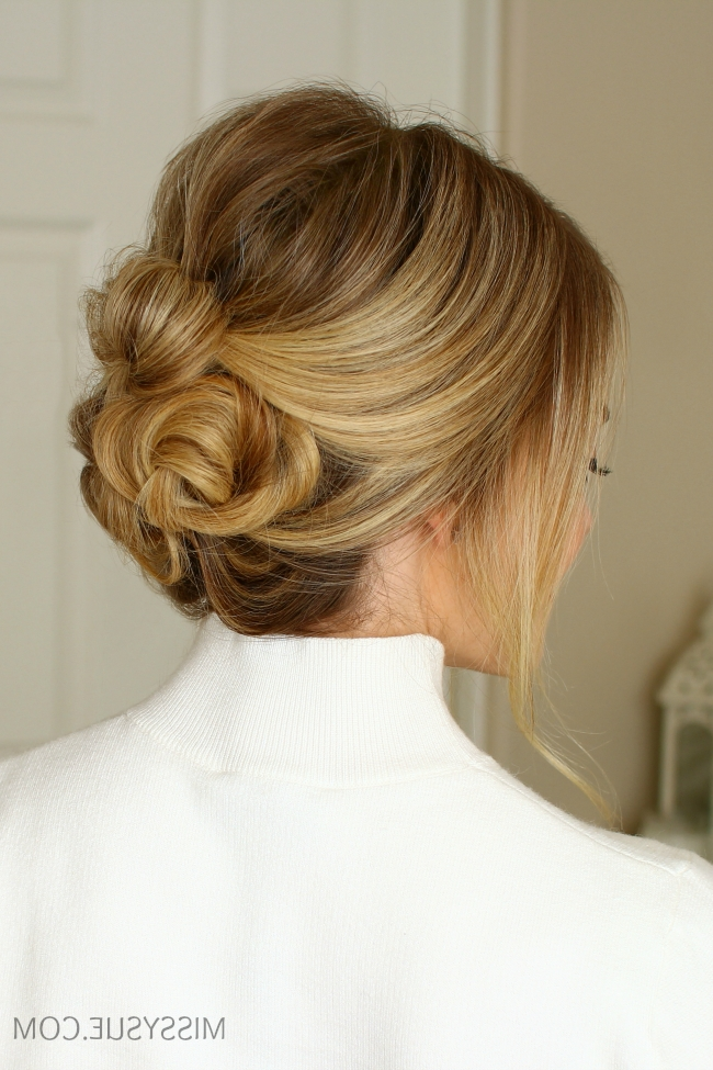 Twisted Buns Updo | Missy Sue Inside Most Current Twisted Bun Updo Hairstyles (View 3 of 15)