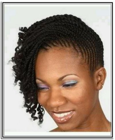 Two Strand Twist Updo! | Natural | Cornrow | Pinterest | Cornrow And Inside Most Recently 2 Strand Twist Updo Hairstyles (View 7 of 15)